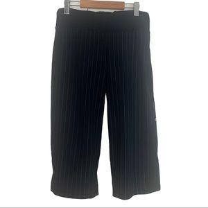 Lululemon Black Striped Crop Pants